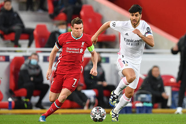 Real Madrid vence al Liverpool en el global y va a semis de Champions