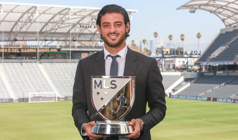 Carlos Vela mejor jugador de la MLS 2019