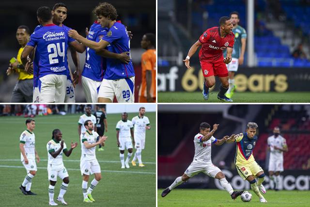 Los tres clubes de la Liga MX ya conocen a sus rivales en los cuartos de la Concachampions