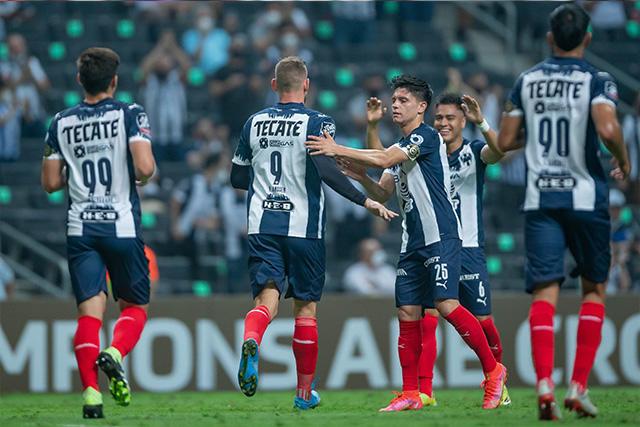 Rayados es el último invitado a los cuartos de final de la Concachampions