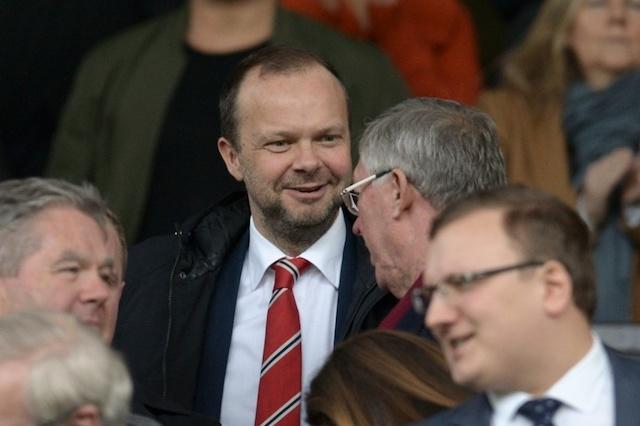 El ex CEO del Manchester United con Sir Alex Ferguson
