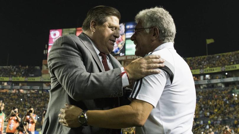 Miguel  Herrera y Ricardo Ferreti