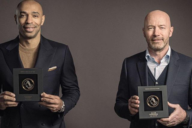 Thierry Henry y Alan Shearer son los primeros jugadores inducidos en el Salón de la Fama de la Premier League