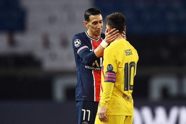 Messi durante los octavos de final de Champions