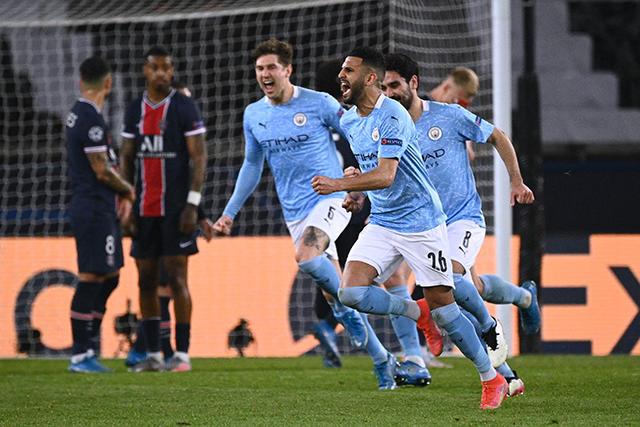 Manchester City da la vuelta al PSG en la ida de las semis de Champions