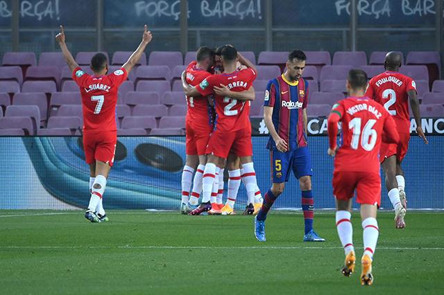 Barcelona no puede ante Granada y se alejan del liderato de LaLiga
