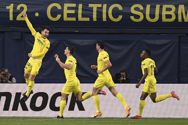 Villarreal venció 2-1 al Arsenal en la ida de las semifinales de la Europa League
