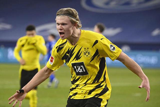 Erling Haaland saldría del Dortmund hasta la ventana de 2022