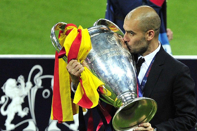 Pep Guardiola regresa a una final de la Champions League