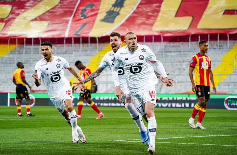 El increíble golazo de Burak Yilmaz con el Lille
