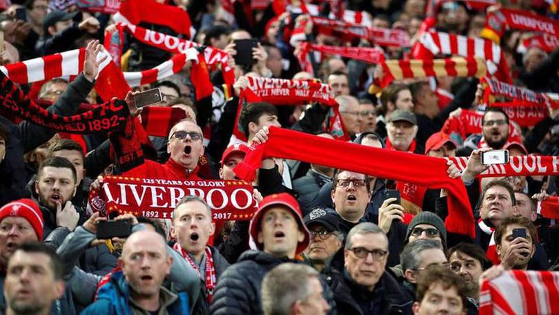 Aficionados del Liverpool