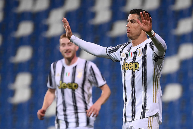 Cristiano Ronaldo llega a 100 goles con la Juventus