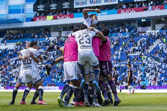 Puebla es el primer semifinalista del Guardianes 2021