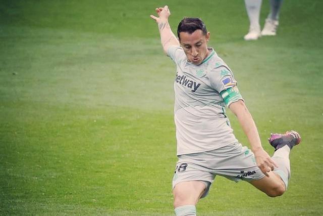 Andrés Guardado ve como simbólico el gol ante el Eibar