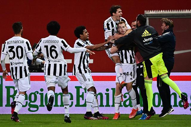Juventus es campeón de la Copa Italia