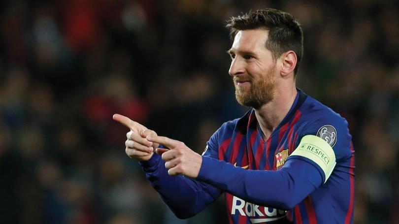 En su tiempo libre, Messi disfruta del padél con sus amigos