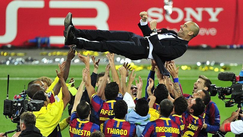 Guardiola se fue del Barça ganando la Copa del Rey