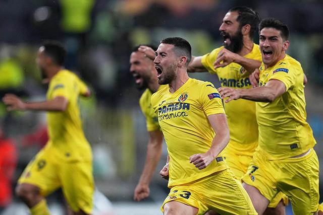 Villarreal le ganó la Europa League al Manchester United en penales
