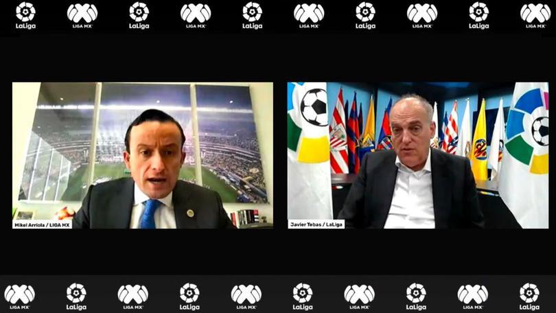 La Liga MX y LaLiga buscarán reforzarse en varios temas