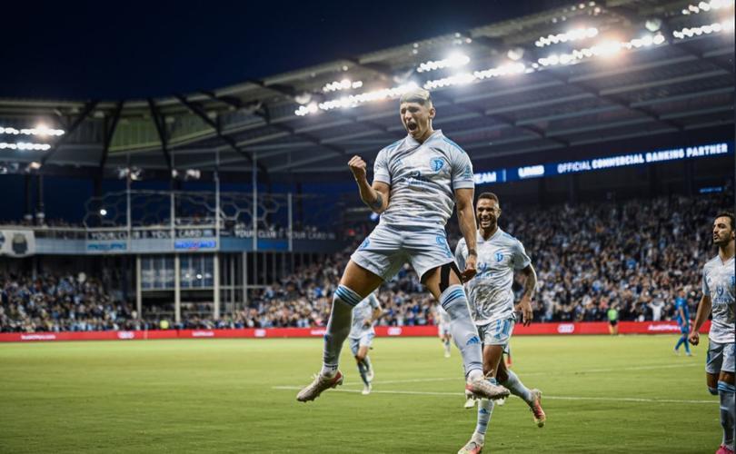 Pulido anotó su quinto gol de la temporada en la MLS
