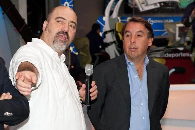 Marco Abad y Emilio Azcárraga