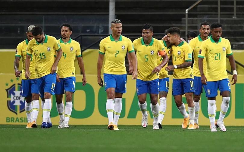 Los jugadores de Brasil jugarán la Copa América como anfitriones por segunda vez consecutiva