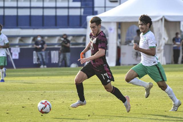 México continúa su preparación para las Olimpiadas en Tokyo, enfrentando a Arabia Saudita en Marbella, España