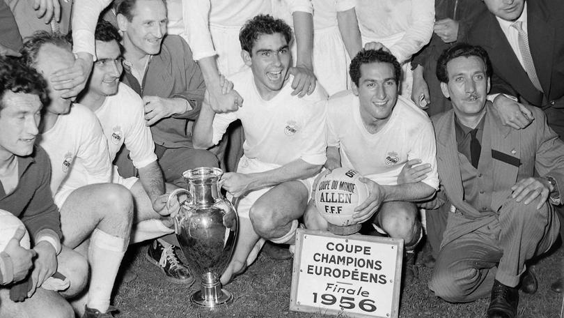 El Madrid remontó al Reims para ganar su primera Copa de Europa