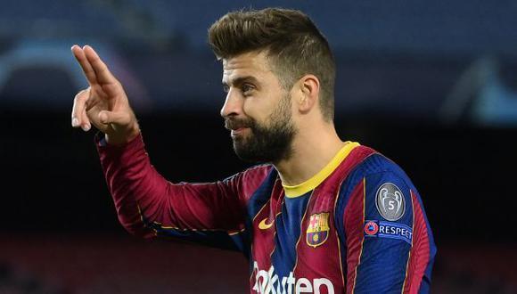 Piqué da sus opiniones acerca de lo que siente del Barcelona.