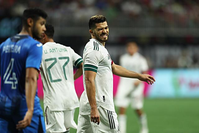 El Tri no logró hacer mucho para romper el cero ante Honduras