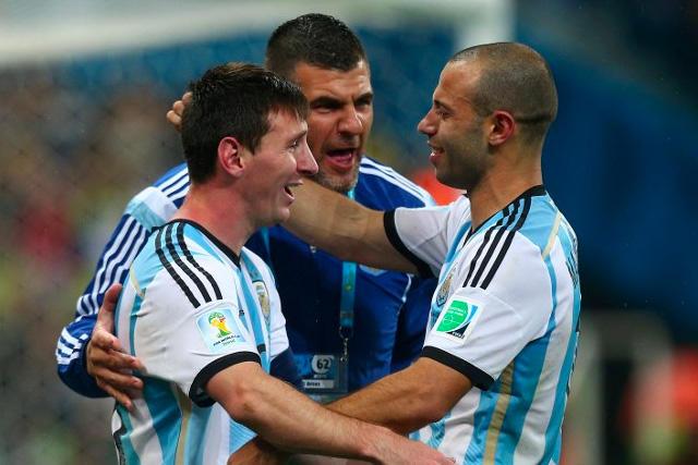 Messi y Mascherano jugaron su último partido juntos con Argentina en 2020