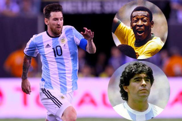 Messi tratará de superar a Pelé como máximo goleador de selecciones sudamericanas