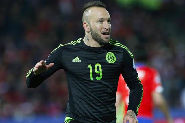 Matías Vuoso jugó Copa América con el Tri y anotó 2 goles contra Chile