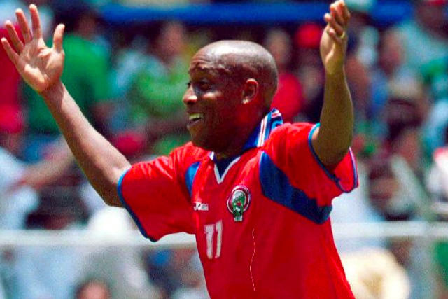 Hernán Medford fue quien anotó el histórico gol que dio origen al Aztecazo