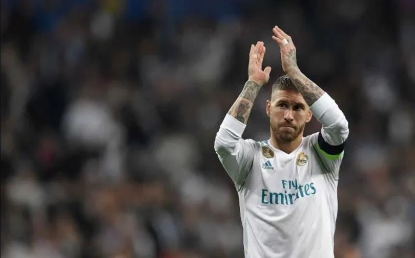El Madrid recordó los grandes momentos de Ramos con el equipo