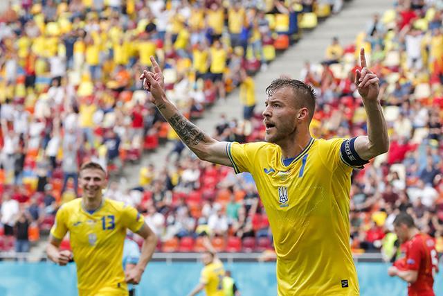 Con un buen primer tiempo, Ucrania derrotó a Macedonia del Norte