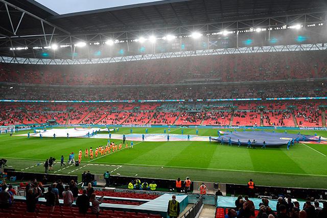 Wembley podría dejar de ser la sede de la final de la Euro por los nuevos casos de Covid-19 en Inglaterra