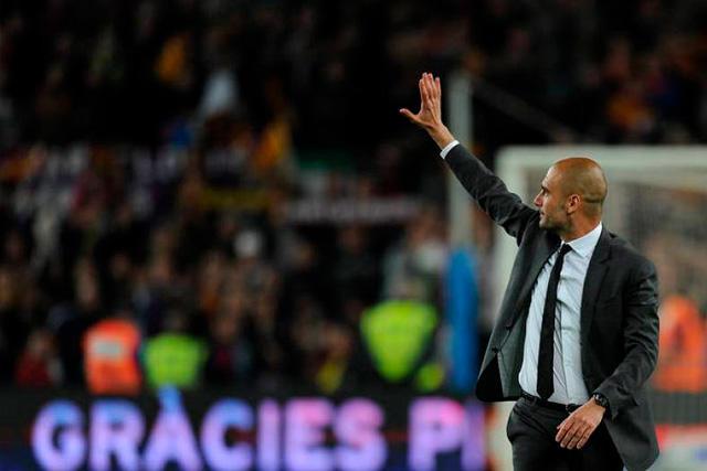 Pep Guardiola estaría cerca de dirigir su primer juego en el banquillo de visitante del Camp Nou