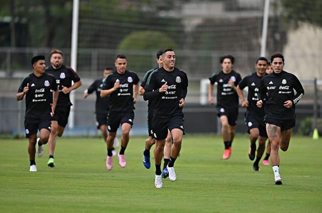 Funes Mori tuvo su primer entrenamiento como seleccionado mexicano