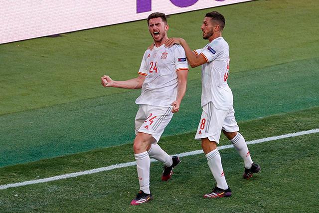 España firmó una manita y terminaron como segundos de su grupo