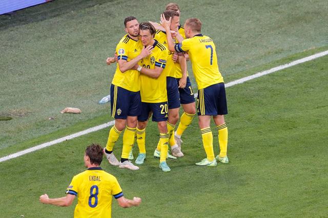 Suecia gana 3-2 a Polonia y lo elimina de la Euro 2020