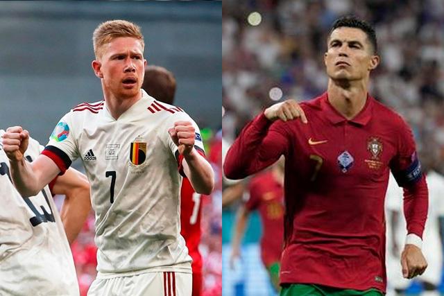 Bélgica vs Portugal, el partido más atractivo en los octavos de final de la Euro 2020