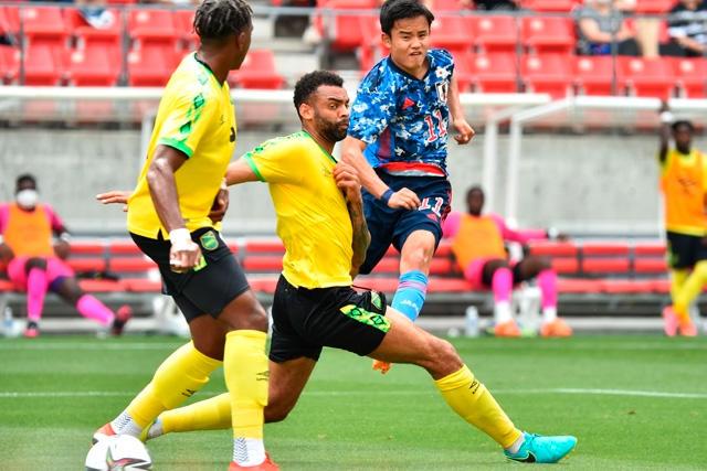 Take Kubo marca golazo ante Jamaica