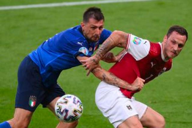 Italia y Austria jugarán 30 minutos más para decidir quién pasará a cuartos