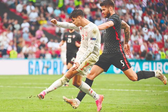Morata le regresó la ventaja a España empezando los tiempos extras