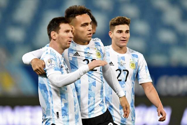 Messi y Argentina avanzaron como primero del Grupo A en la Copa América