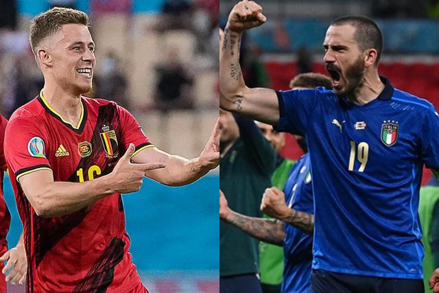 Bélgica se enfrentará a Italia en el partido más atractivo de cuartos de final de la Euro