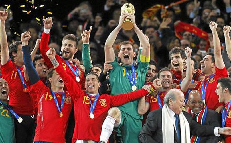 La Selección Española fue la primera en ganar tres trofeos de forma consecutiva