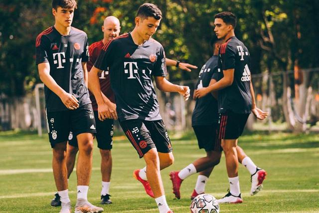 Manuel Aguilar, uno de los mexicanos a prueba con el Bayern Múnich
