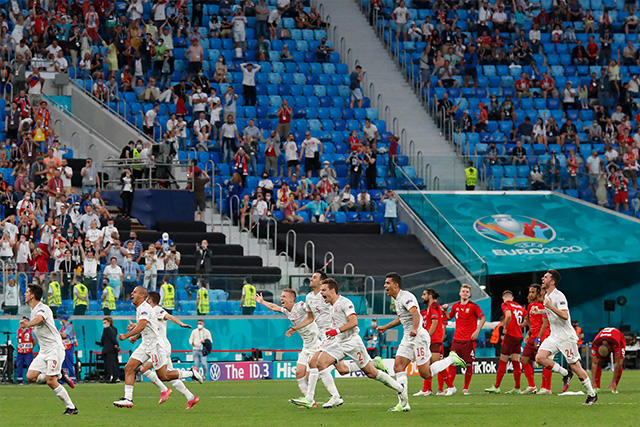 España es el primer semifinalista de la Euro 2020